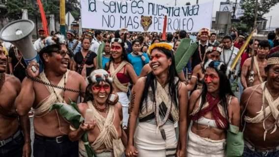 Plemię z Amazonii wygrało proces z firmą naftową i uratowało prawie 200 tysięcy hektarów lasu deszczowego