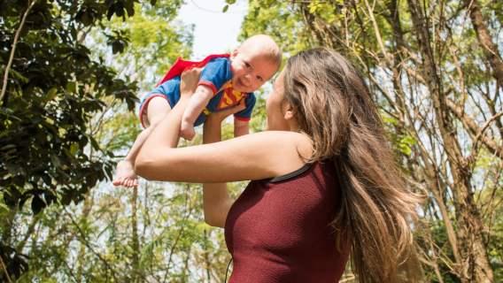 Instagramerka chce pomóc młodym mamom
