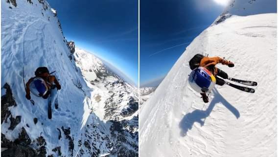 Andrzej Bargiel znany jest ze spektakularnego zjazdu na nartach z K2