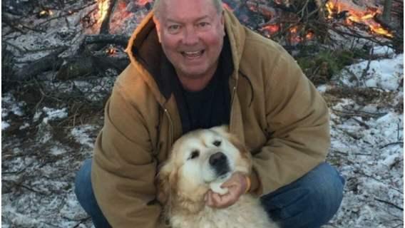 Człowiek został uratowany przez psa