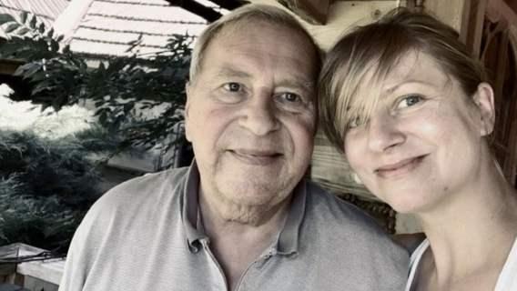 Jerzy Stuhr z córką Marianną.