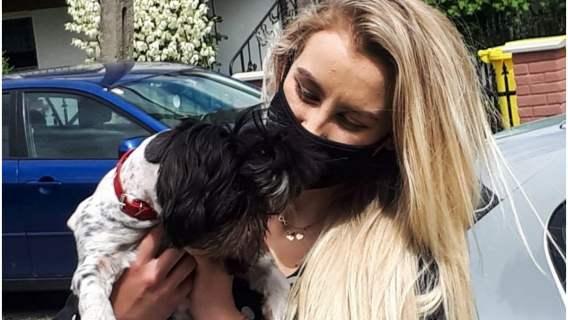 Pies uratował mieszkańców przed pożarem.