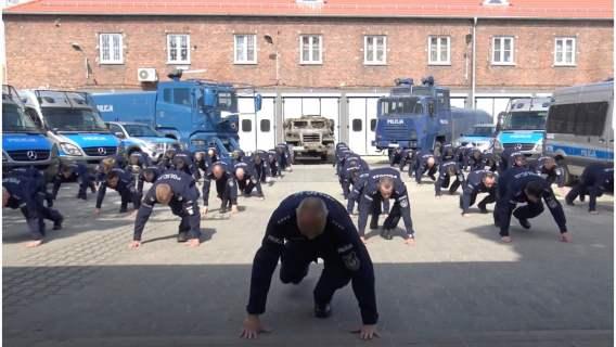 Policjanci Oddziału Prewencji Policji w Szczecinie