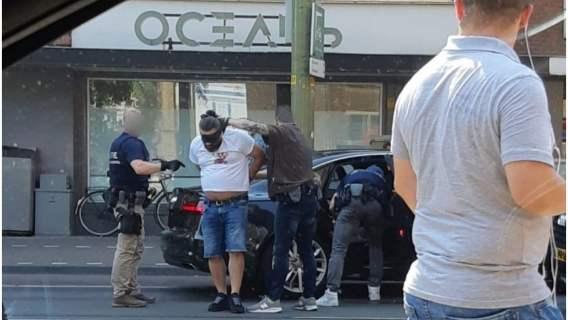 Poszukiwany zbieg został ujęty przez policję