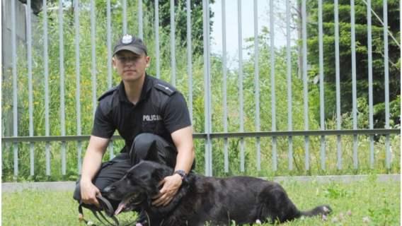 Epan - pies policyjny