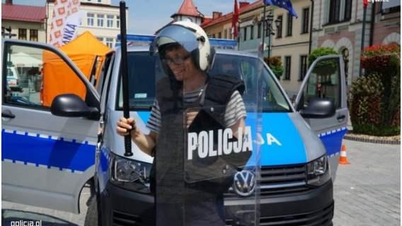 Przemek na jeden dzień został policjantem