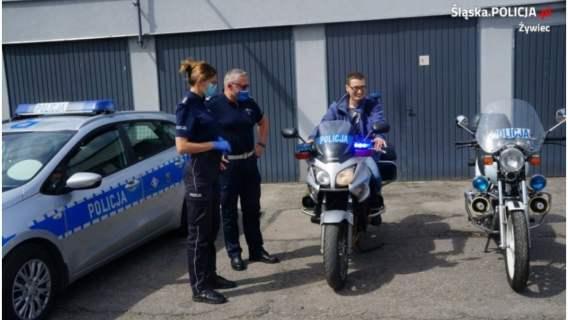Policjanci i Przemek