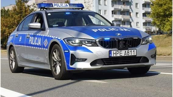 Policja wzięła udział w pościgu ulicami Konina.