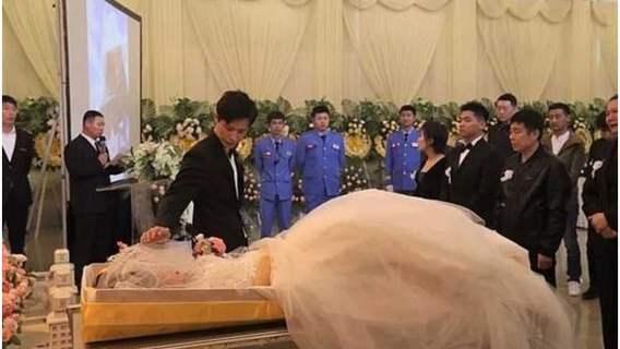 35-latek wziął ślub z martwą panną młodą. Bo miłość jest silniejsza od śmierci