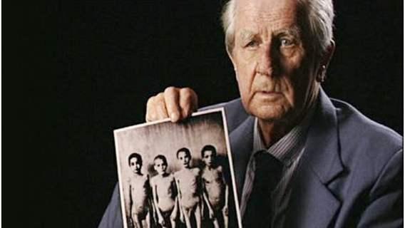 Wilhelm Brasse i jego zdjęcie z obozu w Auschwitz.