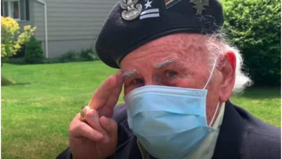 Wyjątkowa niespodzianka w dniu 95. urodzin weterana.