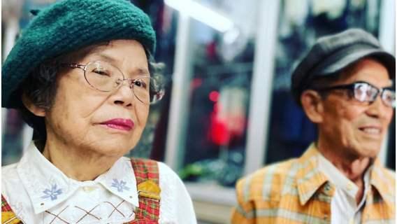 Państwo Chang z wnukiem