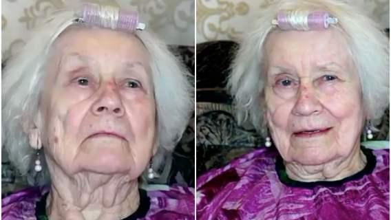 Makijaż zupełnie odmienił wygląd seniorki