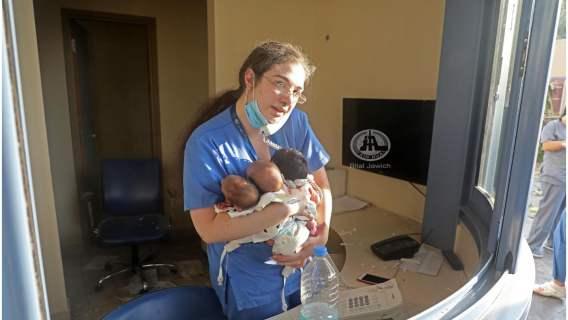 Pielęgniarka uratowała troje dzieci w Bejrucie