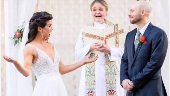 Para rzuciła monetą podczas ślubu by wybrać nazwisko