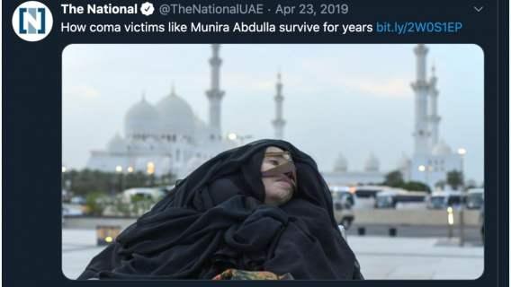 Munira Abdulla wybudzona ze śpiączki