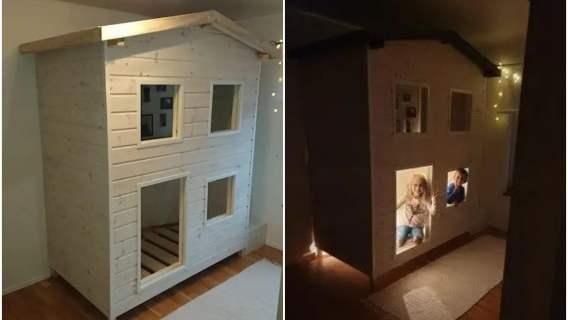 Tata wybudował niesamowity domek dla swoich dzieci