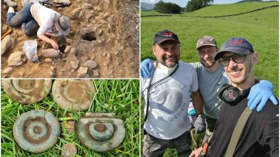 Polacy znaleźli skarb pod ziemią