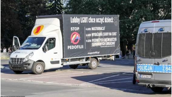 Furgonetka została powstrzymana przed wyruszeniem na ulice Poznania