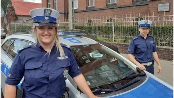 Policja pomogła w uratowaniu życia człowieka
