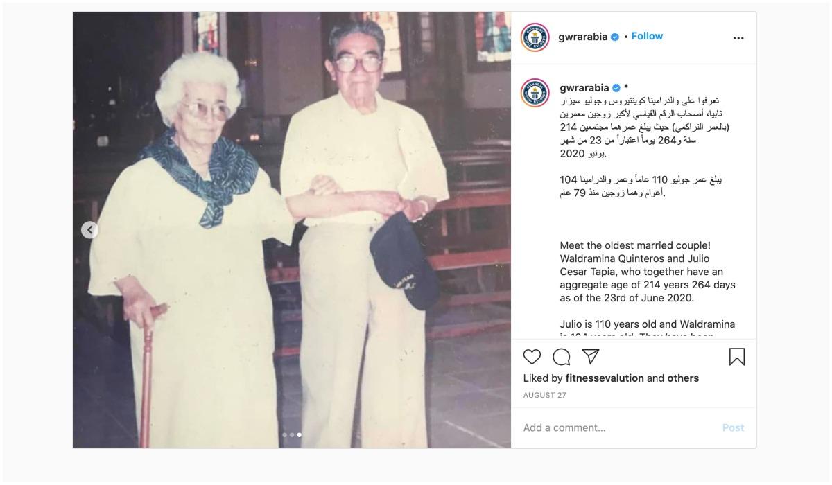Julio Cesar Mora i jego żona Waldramina Maclovia Quinteros
