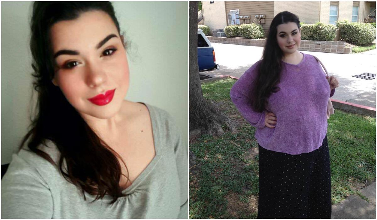 Kobieta schudła z 300 kilogramów