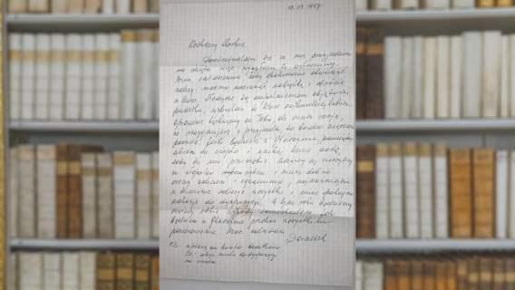 Na Uniwersytecie Wrocławskim odnaleziono list, który dziadek napisał do wnuczki 23 lata temu. Treść wzrusza do łez