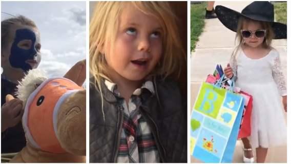 Dziewczynka odtwarza sceny z kultowych filmów i zbiera pieniądze dla potrzebujących