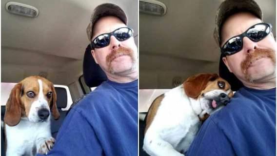 Mężczyzna uratował potrzebującego psa przed śmiercią