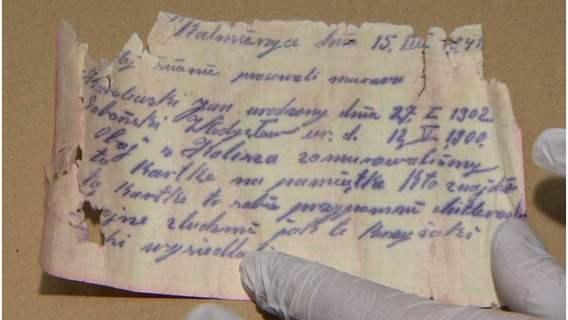 List odnaleziony po latach wzruszył czytelników
