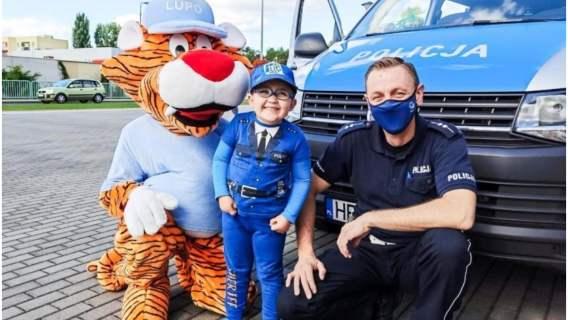 Policja sprawiła chłopcu ogromną niespodziankę