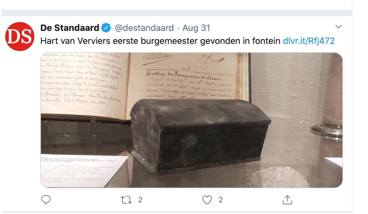 Odkrycie w Belgii