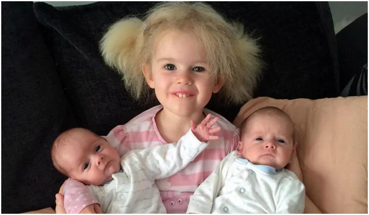 Włosy dziewczynki