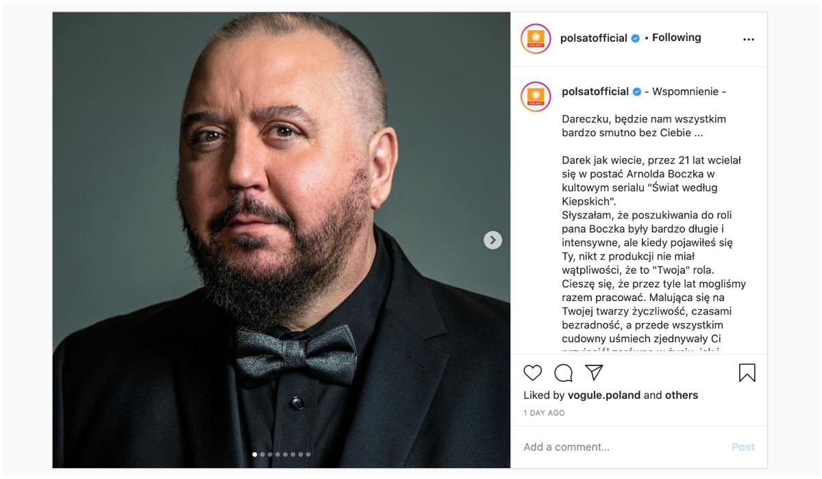 Instagram Polsat