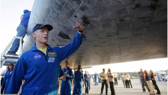 Chris Ferguson zrezygnował z lotu w kosmos by być na ślubie córki