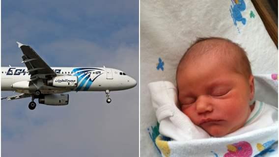 Kobieta urodziła dziecko w trakcie lotu samolotem