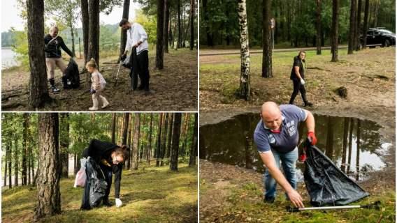 Bydgoszcz ponownie wyszła z inicjatywą dotyczącą sprzątania pobliskiej zielenii