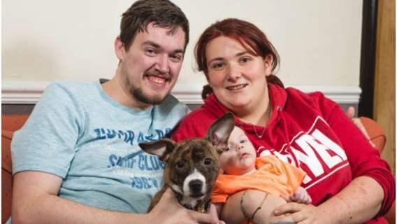 Bohaterski szczeniak uratował życie nienarodzonego dziecka i przyszłej mamy. Gdyby nie szybka reakcja zwierzęcia, mogłoby skończyć się tragicznie