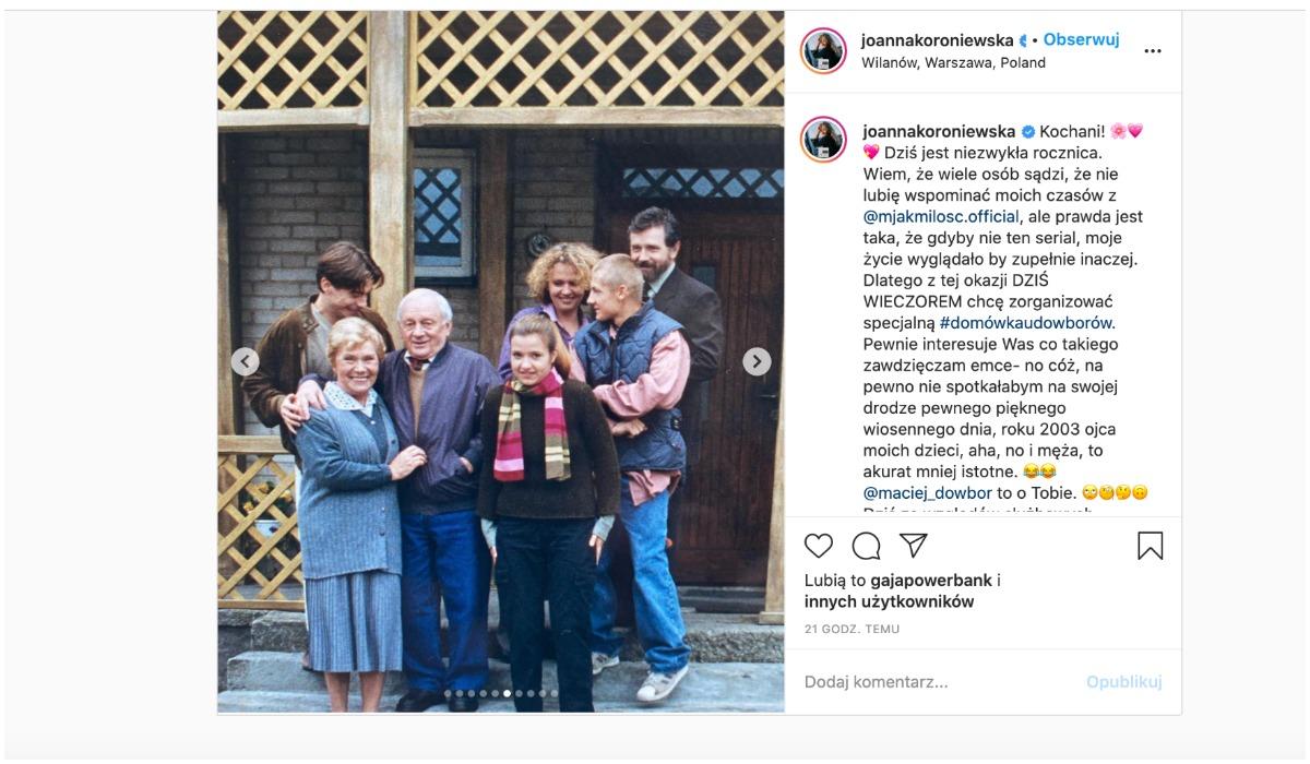 Katarzyna Cichopek i Joanna Koroniewska wspominają serial