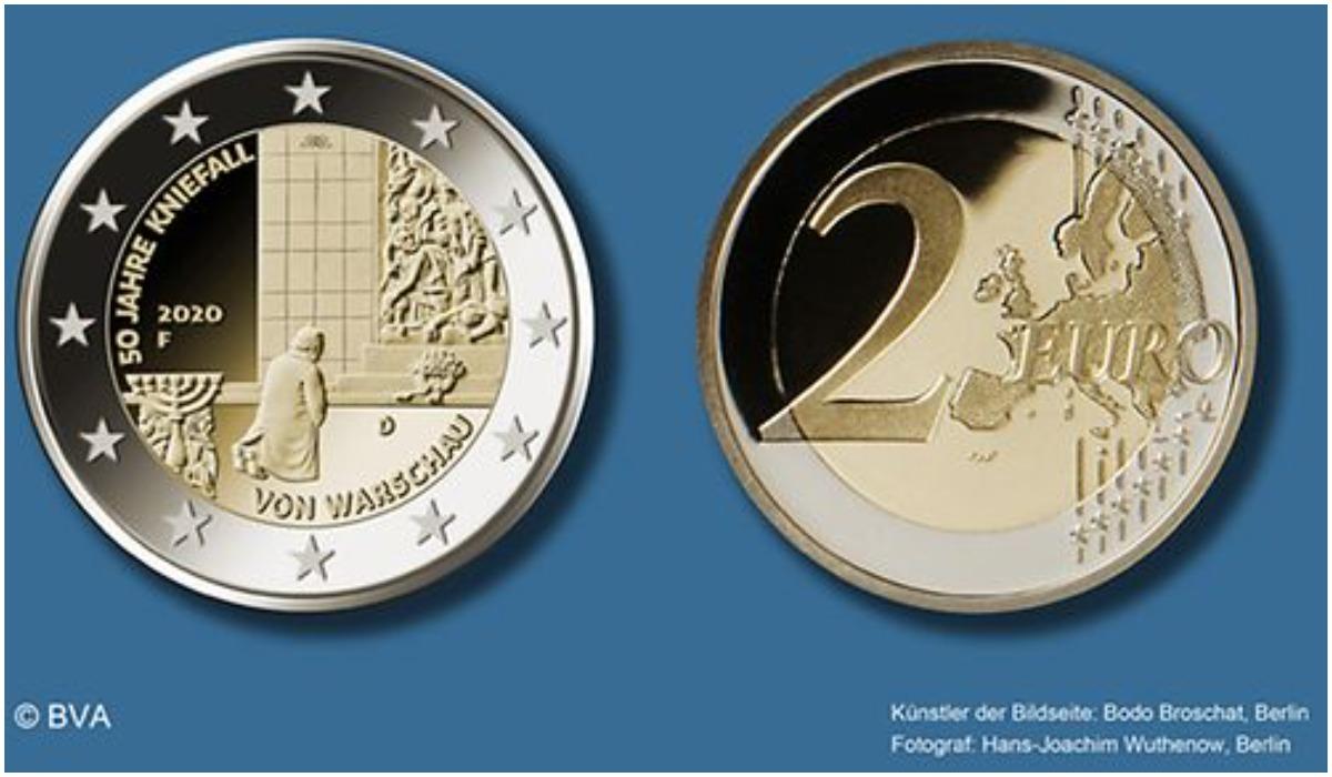 Moneta wybita w niemczech