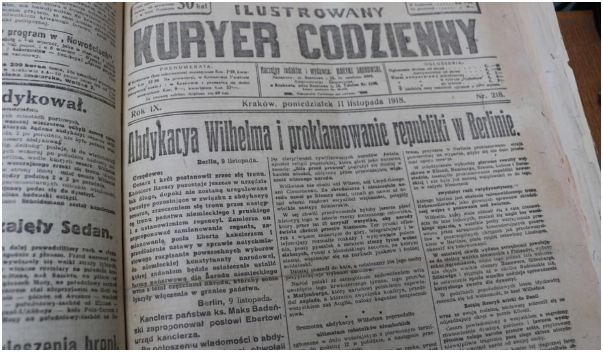 Dzień niepodległości - gazety w Polsce