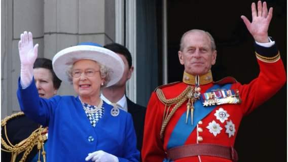 Elżbieta II i książę Filip