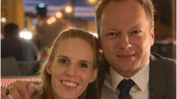 Maciej Stuhr z żoną pomagają czeczeńskiej rodzinie