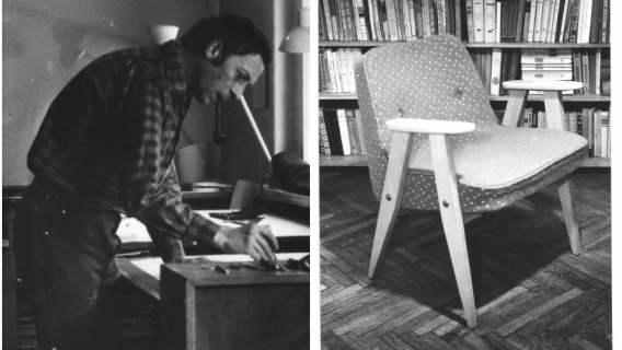 PRL był dla Józefa Chierowskiego czasem, w którym stworzył najsłynniejszy i najbardziej kultowy fotel w historii