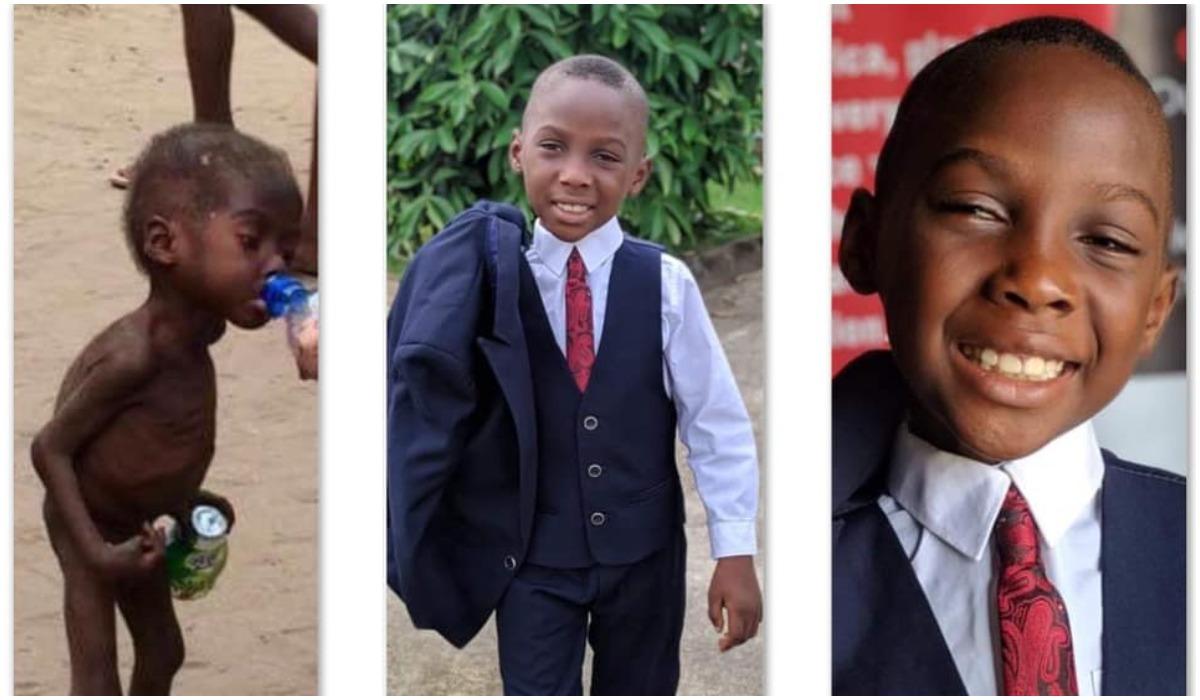 Hope - nigeryjski chłopies