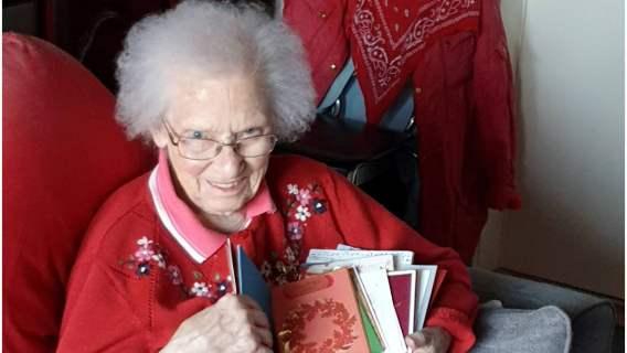Babcia dostała aż 1000 kartek od nieznajomych