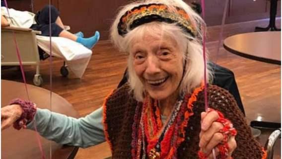 Kobieta w wieku 102 lat pokonała dwókrotnie koronawirusa