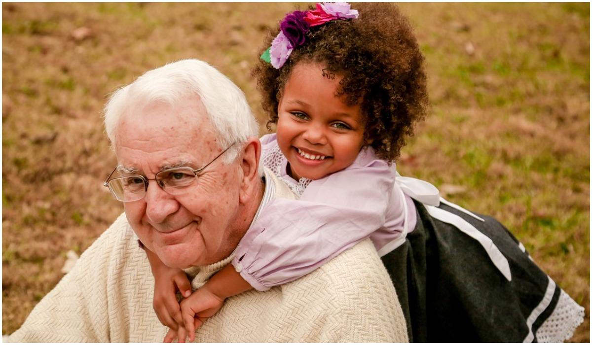 Dziadek i wnuczka